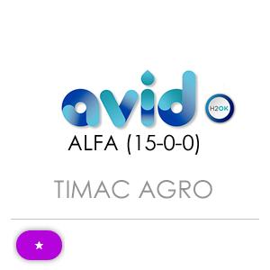 AVID ALFA (15-0-0)