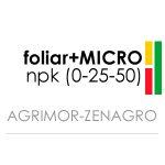 FOLIAR (0-25-50) + MICROS · AGRIMOR